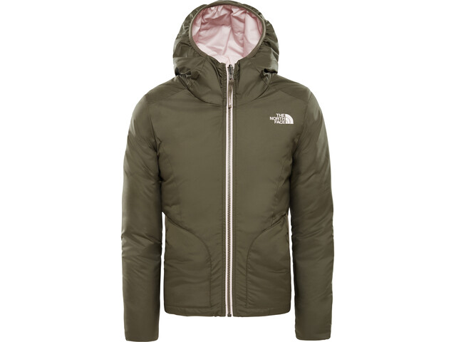 c1c68c471 The North Face Rev Perrito Jacket Girls new taupe green